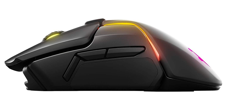 Steelseries Rival 600 Mouse Da Gioco TrueMove3 + Dual Sensore Ottico RGB weightable professionale FPS mouse - 6