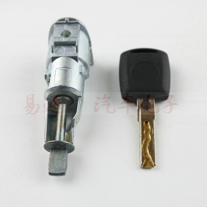 Image 5 - for Skoda Superb Octavia OEM Left Front Door Lock Cylinder for Skoda Superb Octavia with 1pcs KEYdoor lock cylinderlock cylinderdoor lock -