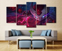 Wall Art Painting Canvas For HD Print Living Room Decor 5 Piece Kennen League of Legends Game Artwork