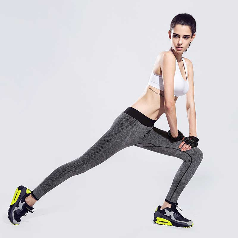 Women Compress Quick Dry Run Tight Sport Gym Pant Yoga Exercise Fitness Legging For Workout Train Slim Bodybuilding Clothing E81