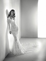 Eslieb High end Custom made Mermaid Wedding Dress 2018 France Lace Wedding Dresses