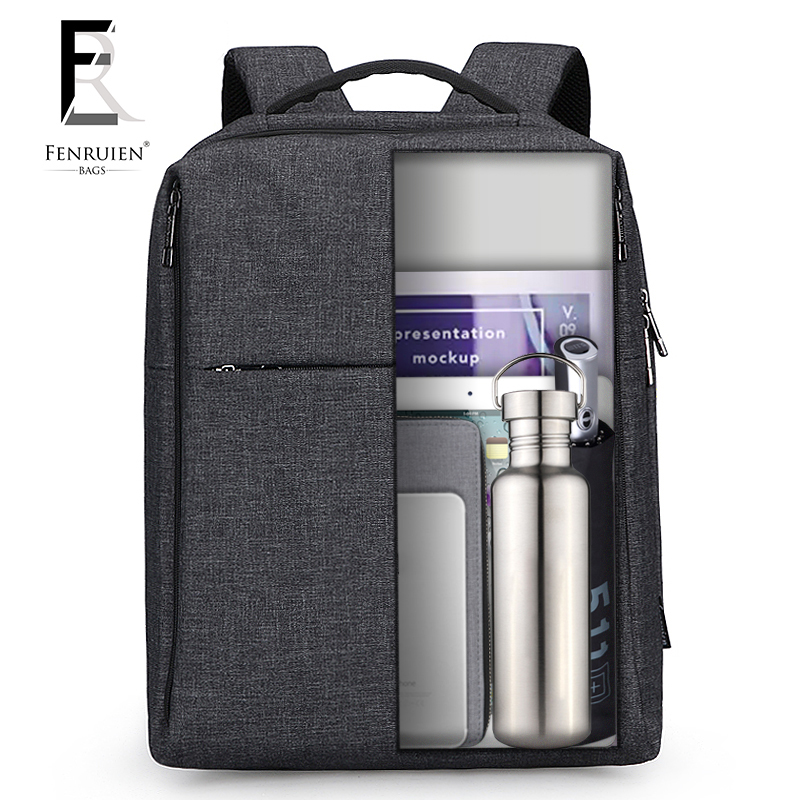 Korean Style Designer Business Leisure Canvas Backpack Bag Men Rucksack Fashion Luxury Multifunction Versatile Solid Laptop Bag vintage multifunction business travel canvas backpack men leisure laptop bag school student rucksack
