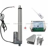 12 Volt 10 inch Linear Actuator W/ Wireless Remote Control Controller for Car RV