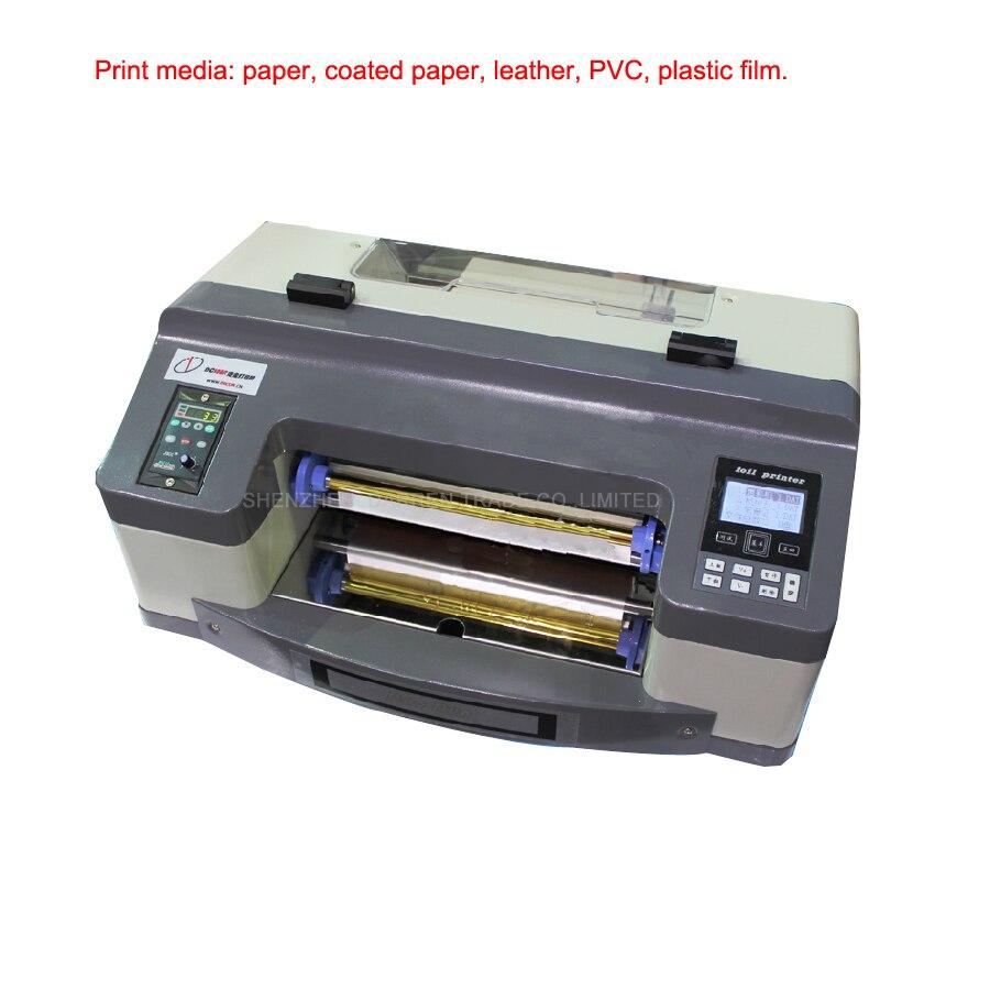 1 stück 220 v 300mm digitale heißfolienprägen druckmaschine ...