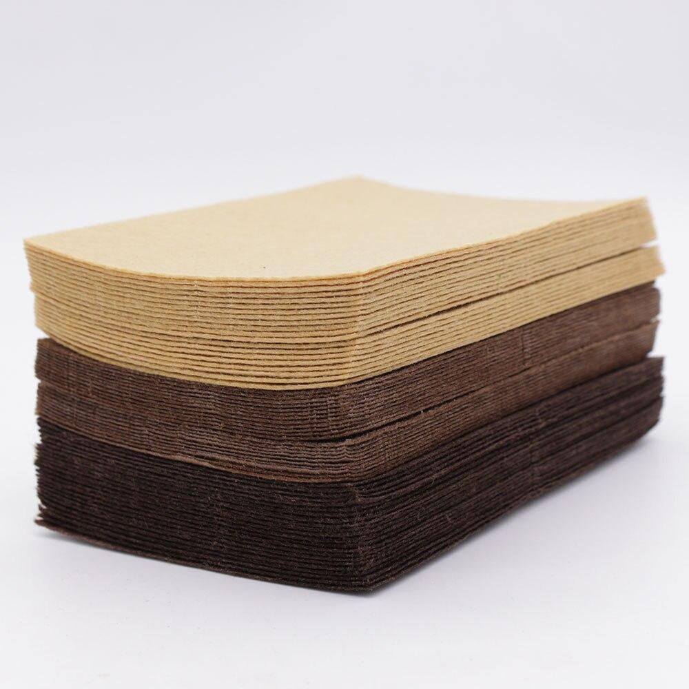 Коричневый шоколадный Цвет Фетр корабль 1 мм Фетр полиэстер ткани Простыни для DIY украшения Вышивание fieltro Фетр ro текстиль entretela
