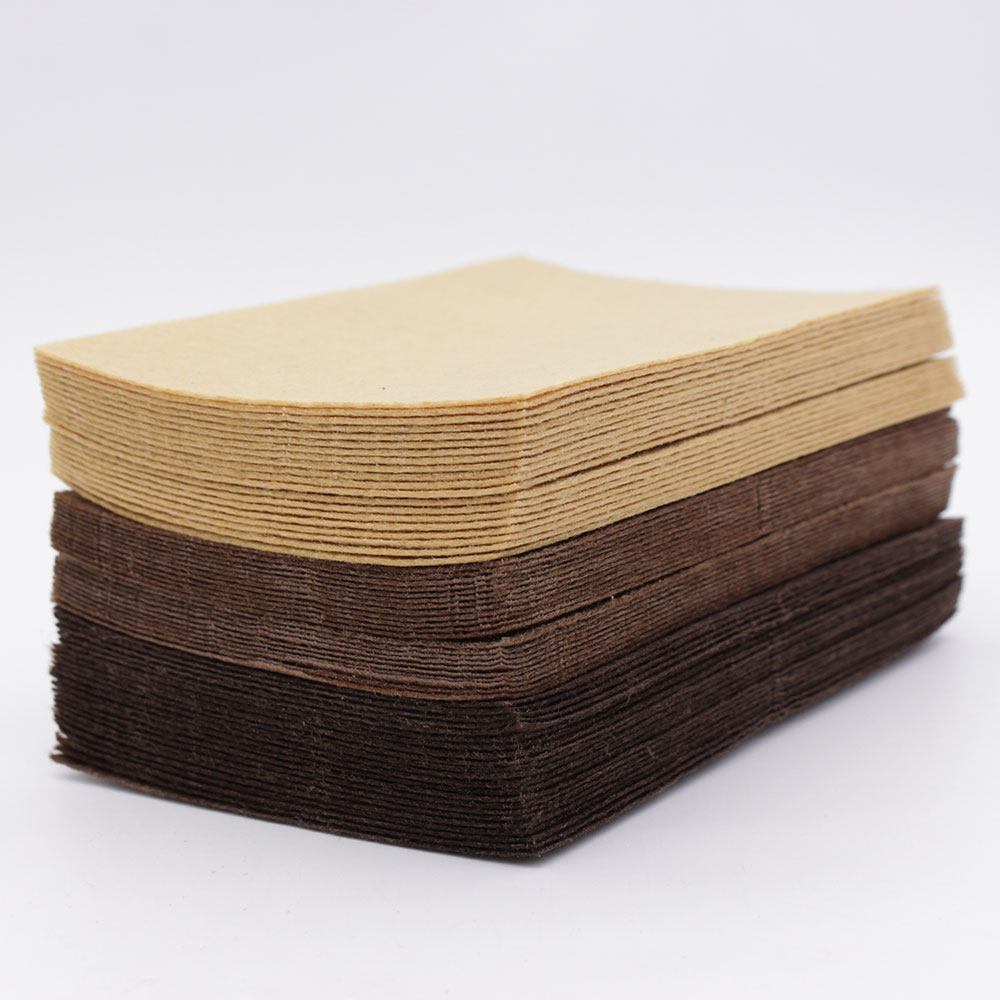 Brown Chocolate Color Felt Craft 1mm Felt Polyester Fabrics Sheet For Diy Decoration Sewing Fieltro Feltro textiles Entretela