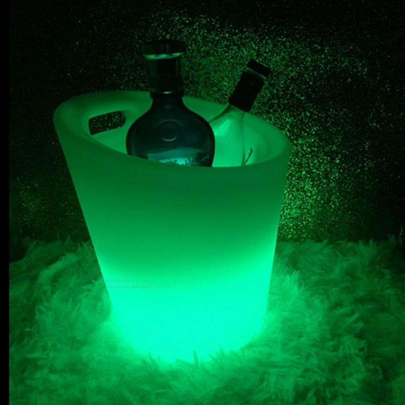 Recharebale Lighting Up Bucket with Handle