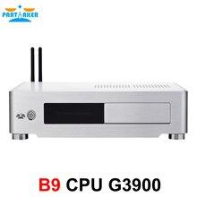 Partaker B9 6th Generation SKYLAKE Mini PC Computer with G3900 2.80 GHz CPU DDR4 Memory VGA HDMI DVI Port