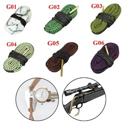 Hunting Gun Bore Snake Cleaner .22 Cal .223 Cal & 5.56mm,9mm,7.62mm,4.5mm Calibre Boresnake Rope Rifle Cleaning Barrel