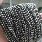10 voeten, 3 MM diameter Kleine Pure Titanium Kralen Ball Chain DIY Kettingen