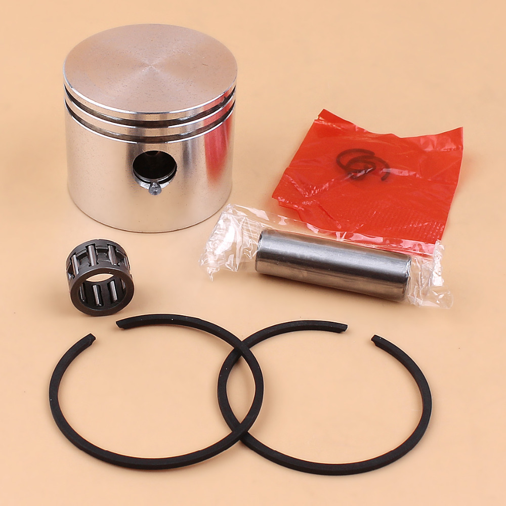 41mm Piston Rings Bearing Kit For Partner 350 370 351 352 371 390 Poulan 2150 1950 2250 2450 2550 Chainsaw Engine Motors
