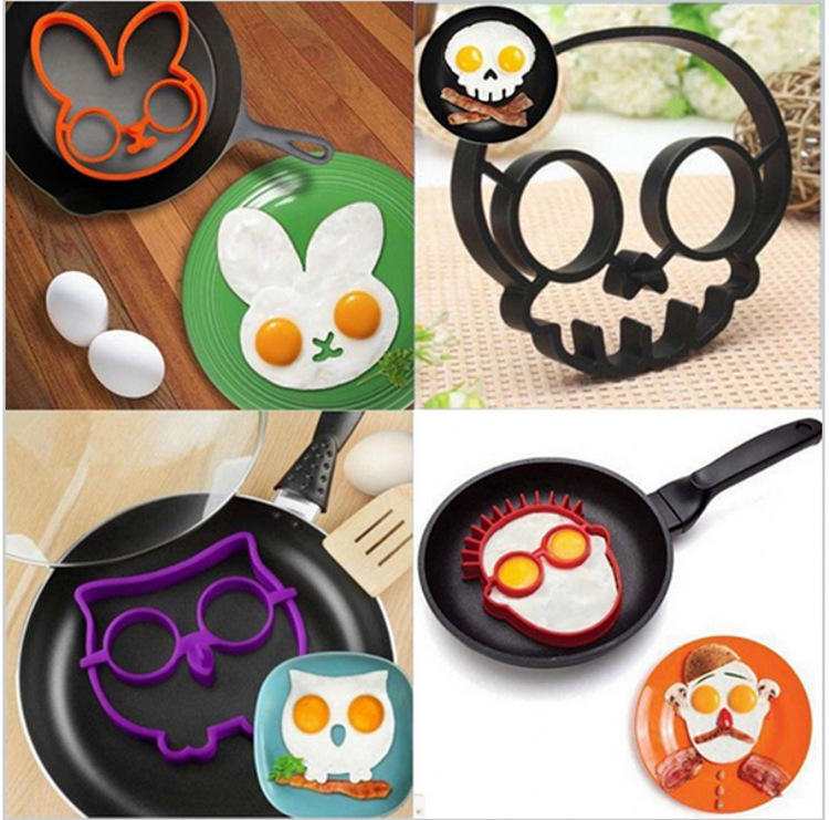Home & Garden Motivated 1pc Silicone Egg Ring Breakfast Silicone Egg Molds Pancake Egg Moulds Cooking Tools Frying Egg Moulds Kitchen Gadgets