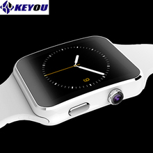 keyou X6 bracelet smart watches bluetooth  android smartwatch 2017 damen electronic sim card available gear smart wacht phone