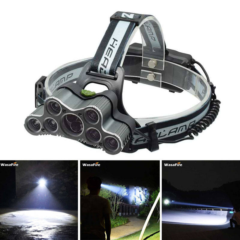 7*XML T6+2*XPE Q5 LED Headlamp 30000LM 9 LED Head Torch Lamp Frontal Light USB Rechargeable Headlight Running Fishing Flashlight sitemap 9 xml