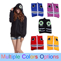 Free Shipping Vocaloid Matryoshka Cosplay miku Len Rin Gumi Cosplay Costume/coat/Hooded Sweatshirt matryoshka vocaloid costume