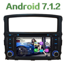 7'' Quad Core Android 7.1 2GB RAM 4G Audio DAB+ BT Car DVD Player Radio GPS Navi Stereo For Mitsubishi Pajero V97 V93 2006-2016(China)