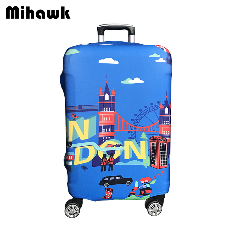 Mihawk Housse De Protection Bagage Élastique Etanche Pour 20 À 30 Pouces Trolley Valise Protéger Dust Bag Case Accessoires De Voyage