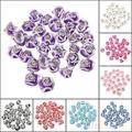 Alta Qualidade 30 Pçs/set Moda Rose Cor Da Flor De Borracha De Cerâmica Strass Nail Art 3D Decoração ferramentas 6Q2Z 7H5X