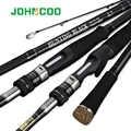 JOHNCOO Carbon Angelrute 2,7 m 3,0 m M MH Power 10-45g Baitcasting Stange Meer Bass Küsten angelrute 3 Abschnitte Spinning Rod