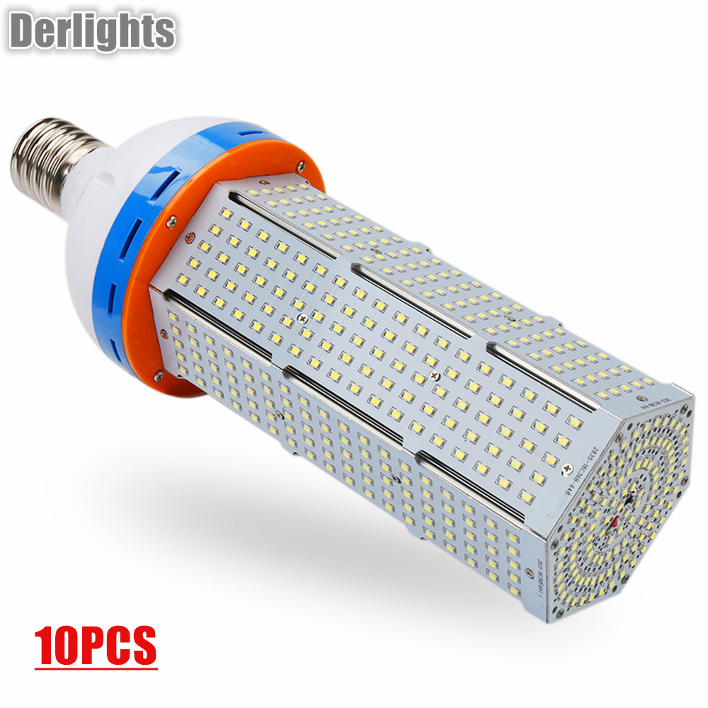 10pcs/Lot 140W E40 LED Corn Light LED Bulb AC85-265V Warm/Cold White AC85-265V Super Bright Energy Saving LED Corn Lamp Lighting