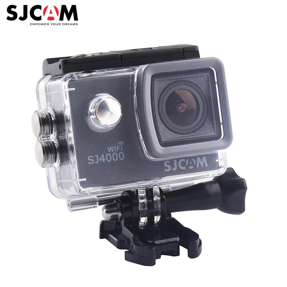 100% Original SJCAM SJ4000 WiFi 2'' Screen 1080P Full HD Underwater 30M Waterproof  Sports Action Camera  Car Mini DVR pvt 898 5g 2 4g car wifi display dongle receiver airplay mirroring miracast dlna airsharing full hd 1080p hdmi tv sticks 3251
