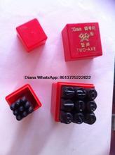2 мм Ручной Маркировки Металла Марки Прописные Ударов Цифры 0-9