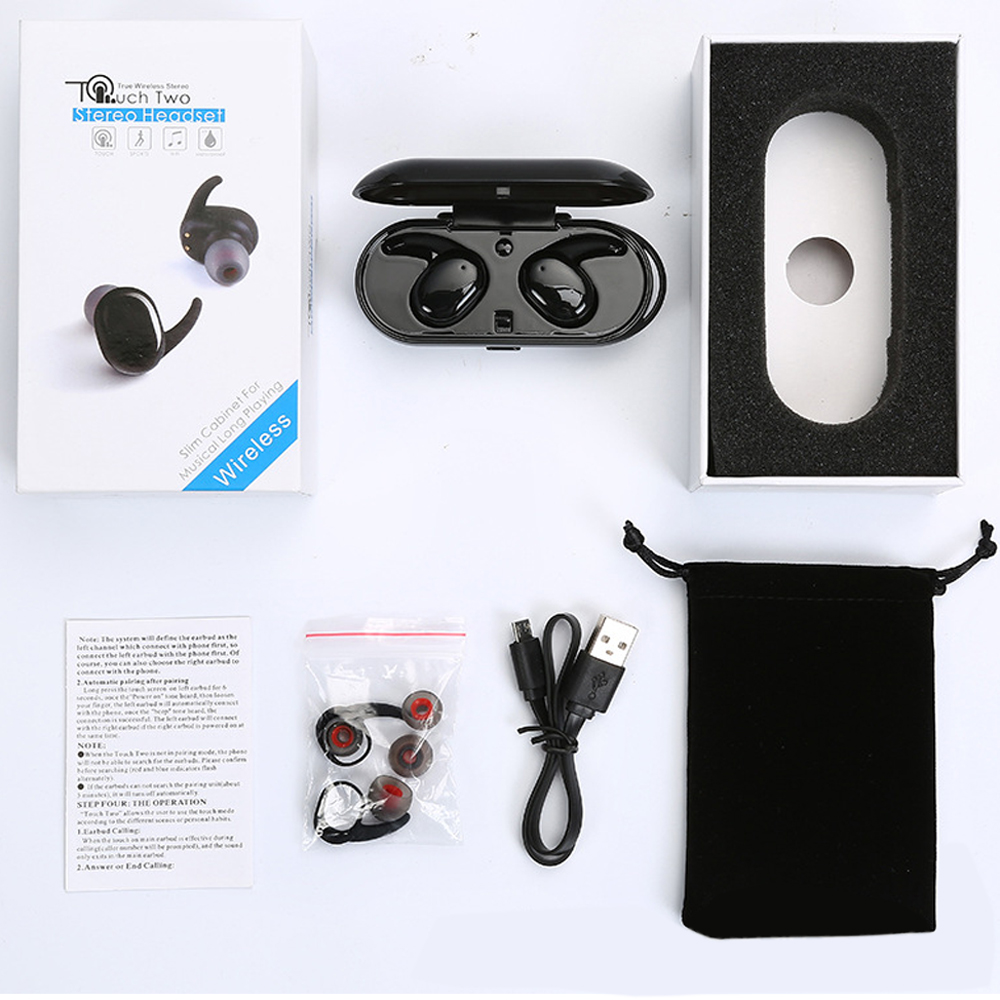 Wireless Earbuds Touch Control 5