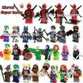 Sola venta DC deadpool marvel avengers super heroes batman Harley Quinn building blocks Classic Collection juguetes Para Niños de Regalo