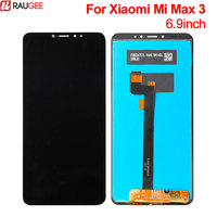 For Xiaomi Mi Max 3 LCD Display+Touch Screen New Digitizer Glass Panel Replacement Lcd For Xiaomi Mi Max 3 2160X1080 6.9inch