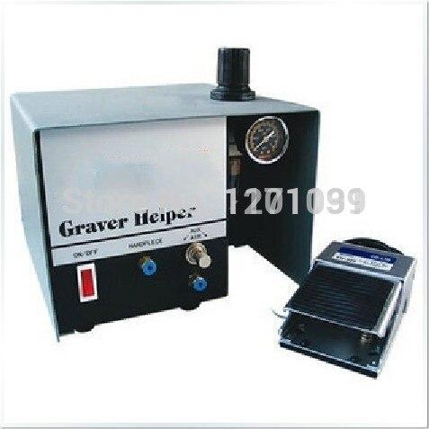 2016 Pneumatic Jewelry Engraving Machine Single Ended Graver mate Graver Tool , Jewel Making Equipment
