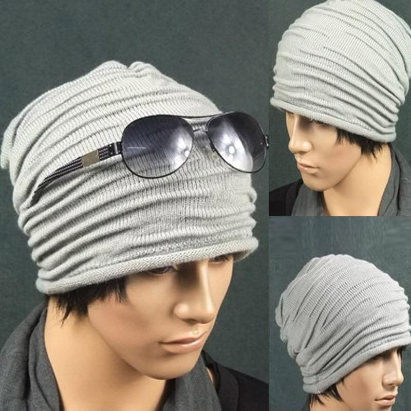 Winter Hats for Men Gorros Hombre Casual Male Skullies and Beanies Bonnet Men Casquette Cap Winter Bonnets en Laine Homme 2016 new fashion letter gorros hats bonnets