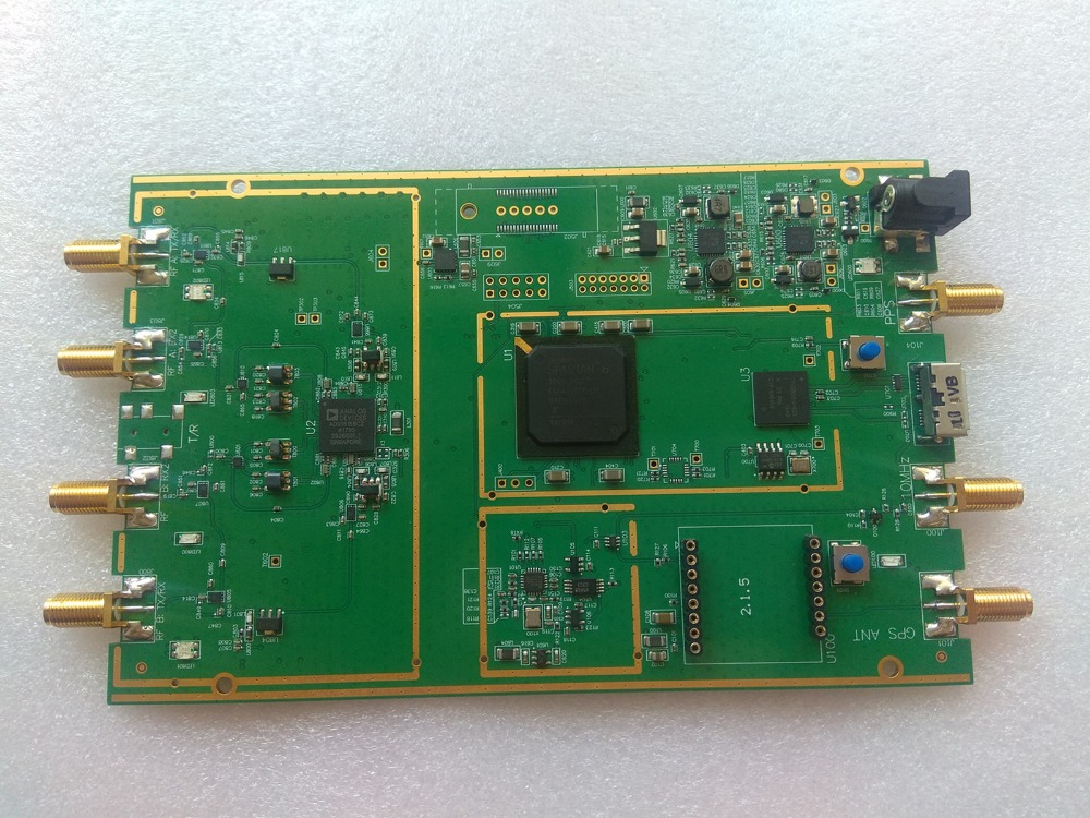 GNURadio AD9361 RF 70MHz 6GHz SDR Software Defined Radio USB3 0 Compatible with ETTUS USRP B210