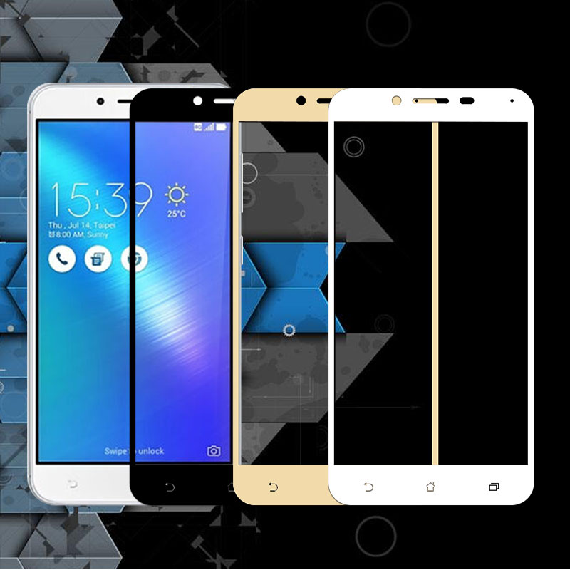 Tempered <font><b>Glass</b></font> For <font><b>ASUS</b></font> 3 Max <font><b>ZC553KL</b></font> Full Cover Phone Screen Protector <font><b>Glass</b></font> For Zenfone 3Max ZC553 KL Protective Film 5.5