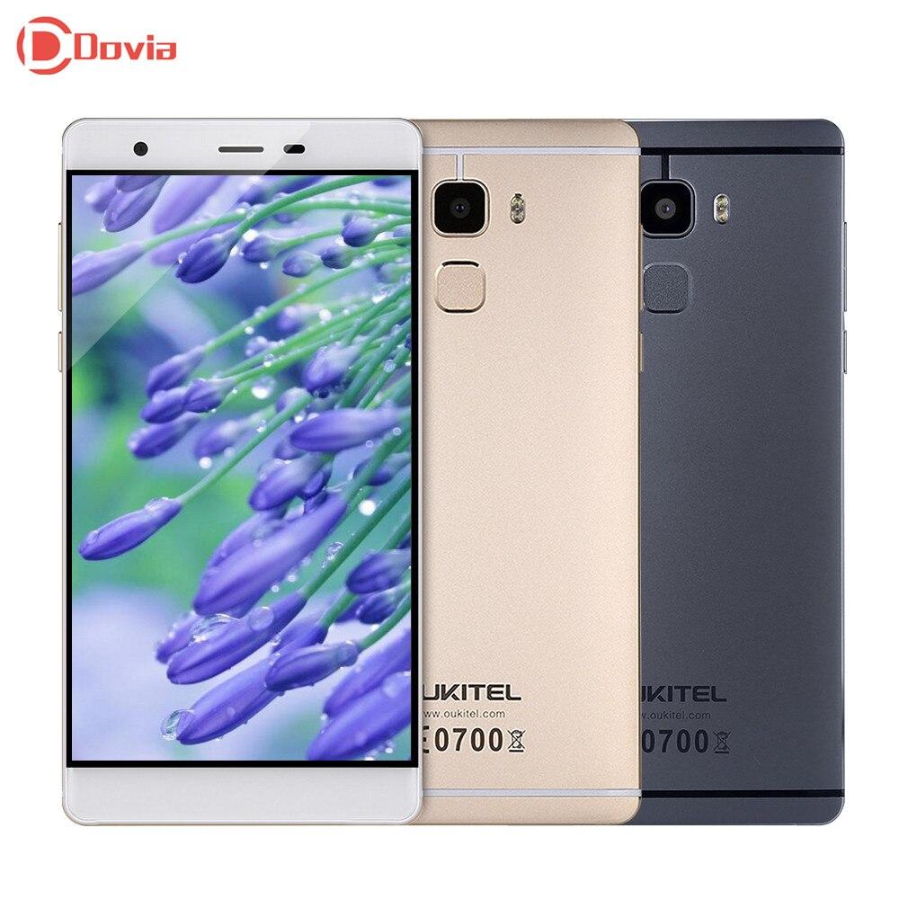 bilder für OUKITEL U13 5,5 zoll 4G Smartphone MTK6753 Octa-core 3 GB RAM 64 GB ROM 8.0MP 13.0MP Doppelkameras Fingerprint Sensor Mobile telefon