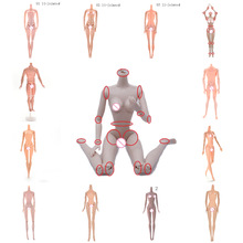 Joints-Doll Monster Without-Head Fairytales Gifts Rotatable Naked-Body Girl for DIY Best