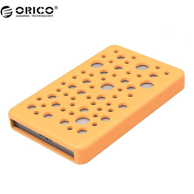 ORICO 2789U3 2.5 дюймов Алюминий Allay USB3.0 Жесткий Диск Корпус с Силиконовой Крышкой