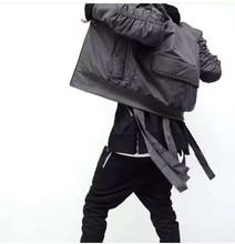 Cool Exclusive Bomber Jacket Men Kanye West HipHop Fake Designer New Fashion Casual Biker Ma1 Flight Coat
