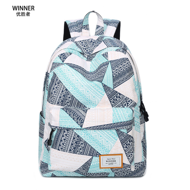 Winner 2017 New Preppy Style Women Backpack Waterproof Backpack ...