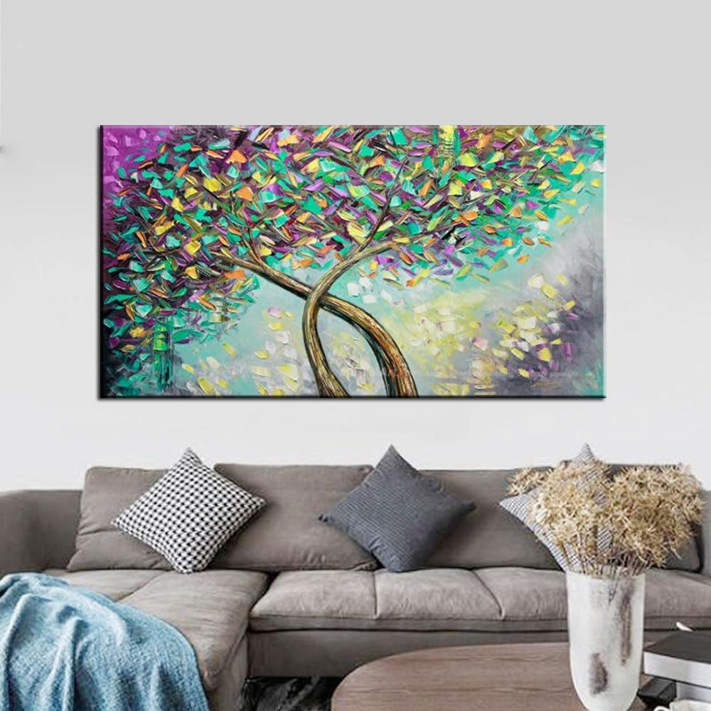 muya acrylic paints modern paintings oil painting knife painting art