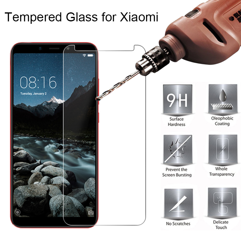 9H Tempered Glass For Xiaomi Redmi 4X 5A 6A 6 Pro HD Screen Glass On Note 2 3 Film Glass For Redmi Note 4X 5A Prime 5 Pro 6 Pro
