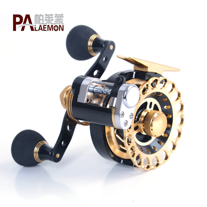 Hot Sale PALAEMON Fishing Raft Wheel Left Hand Right Hand Fishing Reel 10 + 1BB 2.6: 1 Fly Fishing Reel Wheel With High Foot