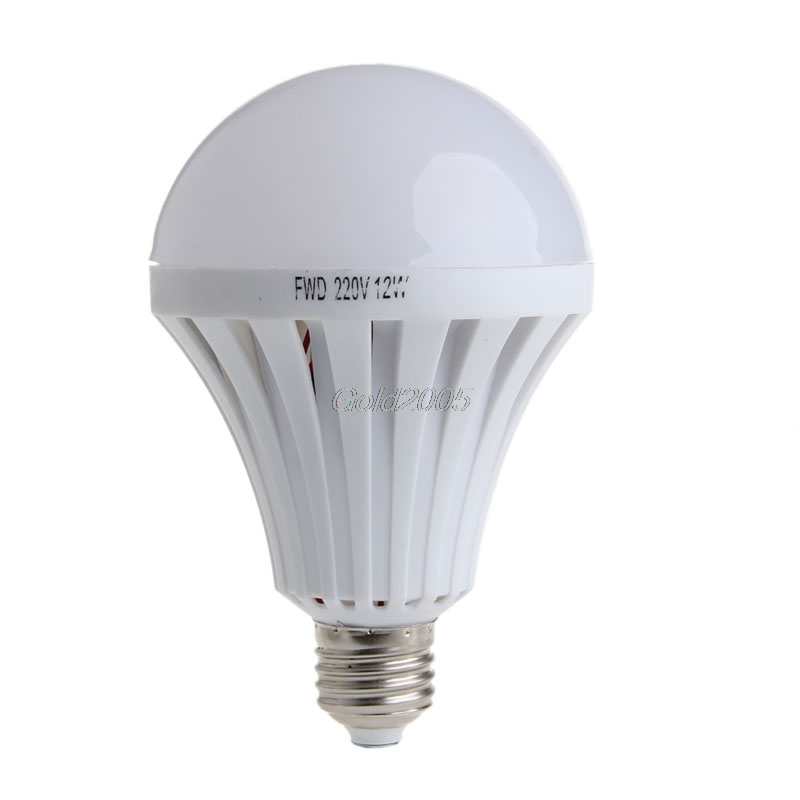 LED Smart Bulb E27 12W AC 220V Emergency Light Lighting Lamp Flashlight G07 Drop ship