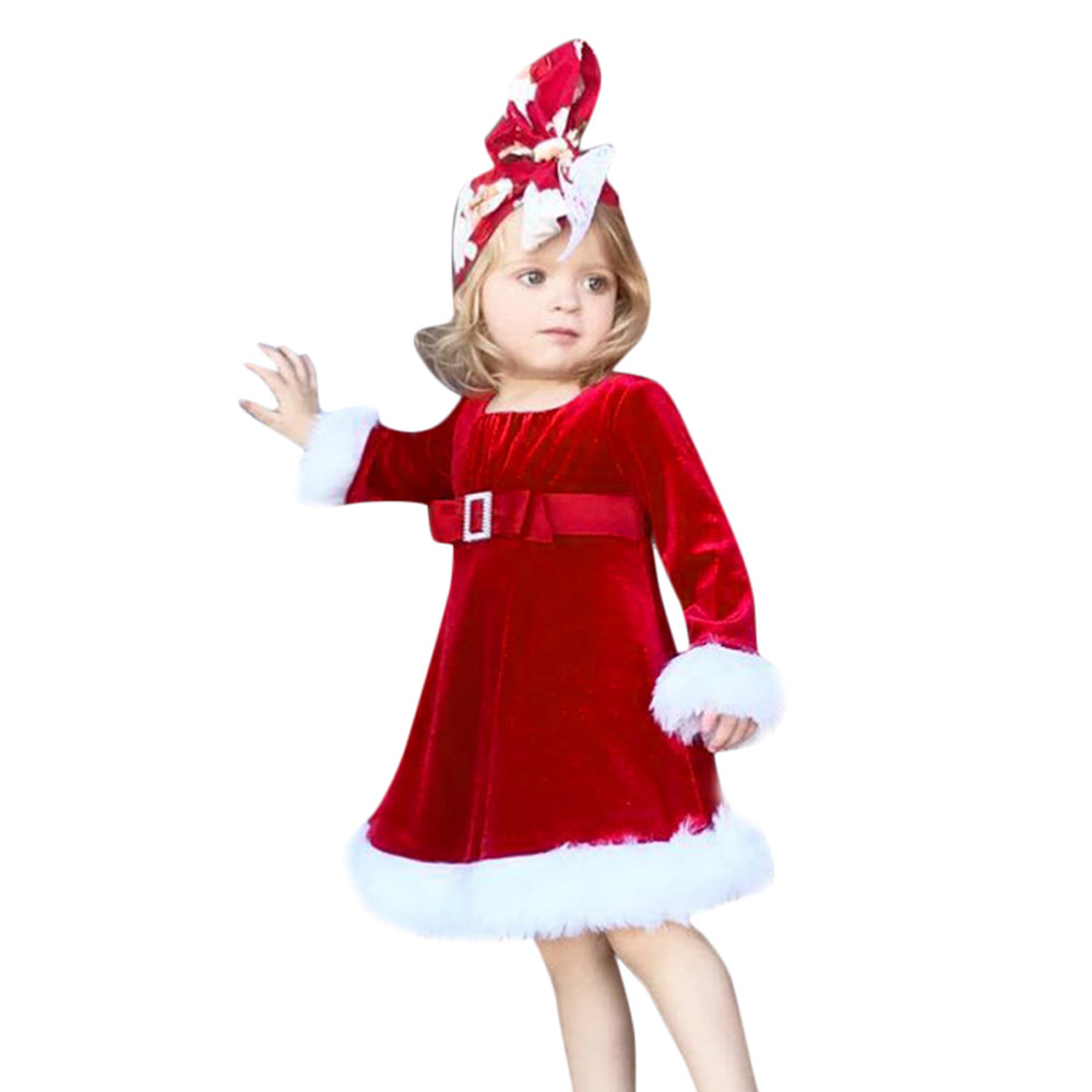 May Baby #5001 Autumn winter Toddler Infant Kids Baby Girl Christmas ...