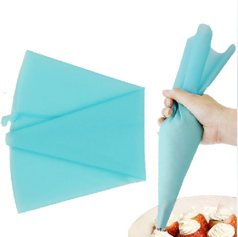 Free shipping 2 pcs/lot Silicon Pastry bag Cake Decoration bag,Re-useable Cake Silicone Icing Bag 31 cm,baking tools for cakes
