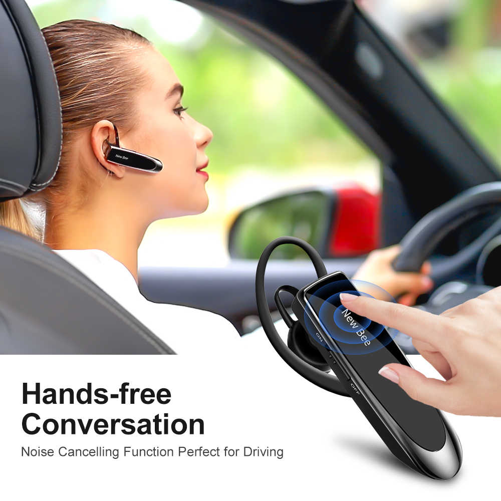 Nuevo auricular Bluetooth Bee, auricular Bluetooth 5,0, auricular manos libres, Mini auricular inalámbrico con micrófono para iPhone xiaomi