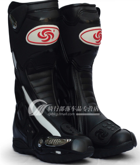Free shipping personalized travel motorcycle racing boots riding boots PRO BIKER Hot Wheels Ares road boots
