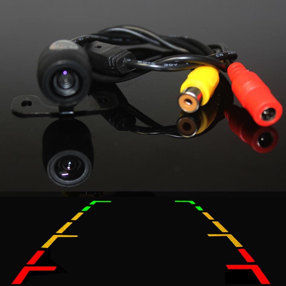 Rezerva e kamerës së pasme të kamerave të pasme të kamerës së pamjes së pasme me 170 kënd të gjerë dhe ndihmë parkimi me çmim të lirë për BMW E46 E39