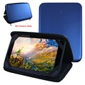 """New Universal Colorful Speaker Sounder Case Cover For 10.1""""Oysters T104MBI 3G Tablet PU Leather Bag"""