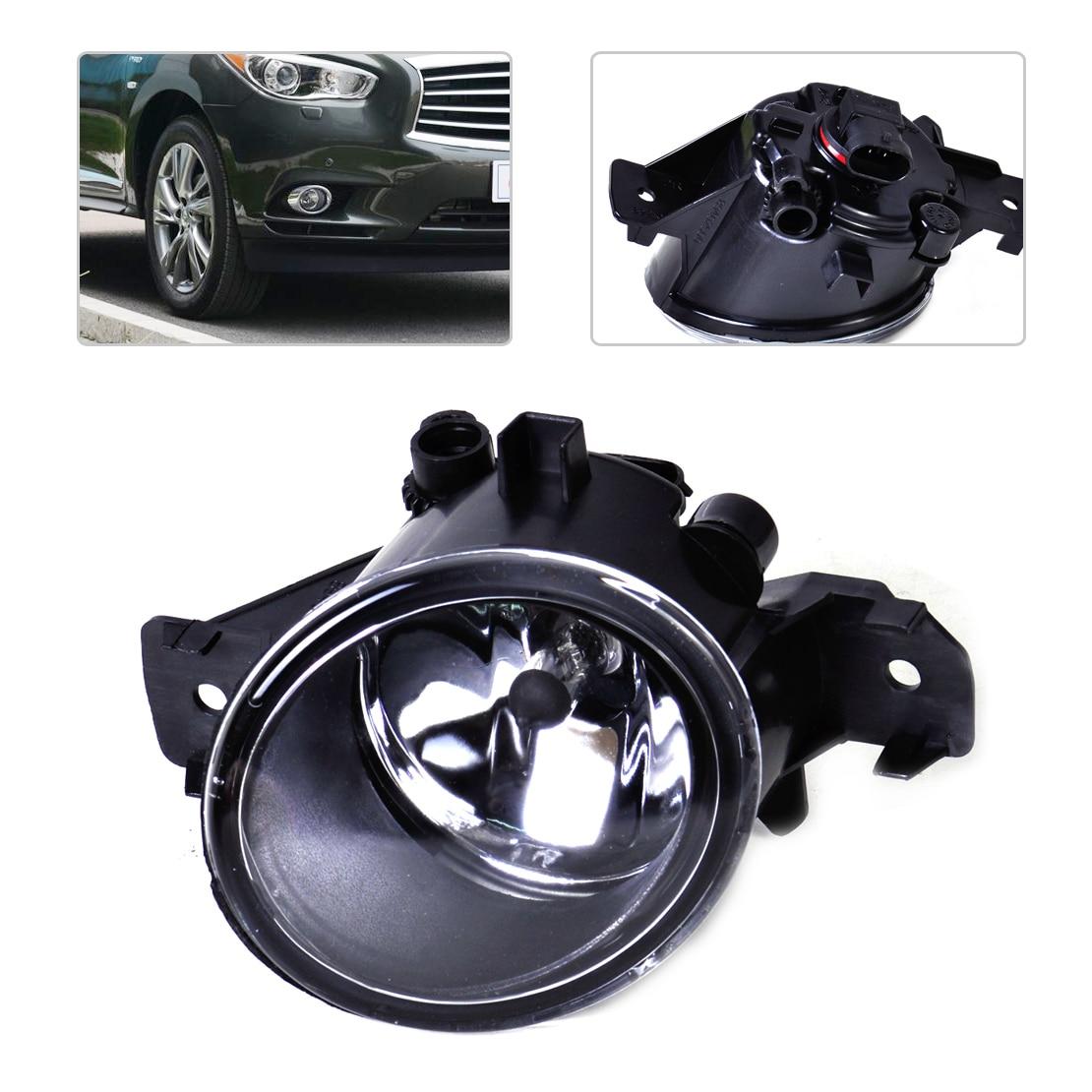 DWCX 26150-89927 Right Fog Light Lamp + Halogen Bulb for Nissan Altima Sentra Murano Versa Infiniti G37 M35 M45 QX60 JX35 цена 2017