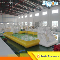 professional water football soap field inflatable soccer field ,inflatable games for adults